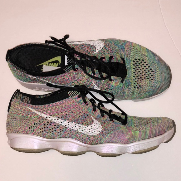 c205c382af20 Nike RARE Agility Flyknit Zoom Women s Multi. M 5b646b1f8869f7af9371000b